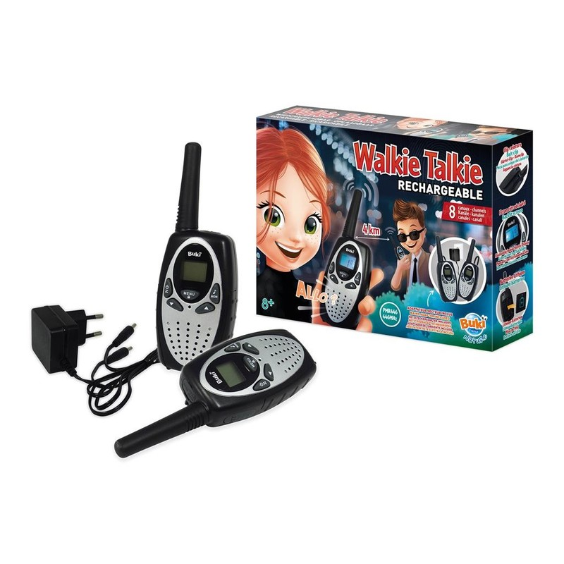 BUKI - Vysielačky pre deti s nabíjačkou
