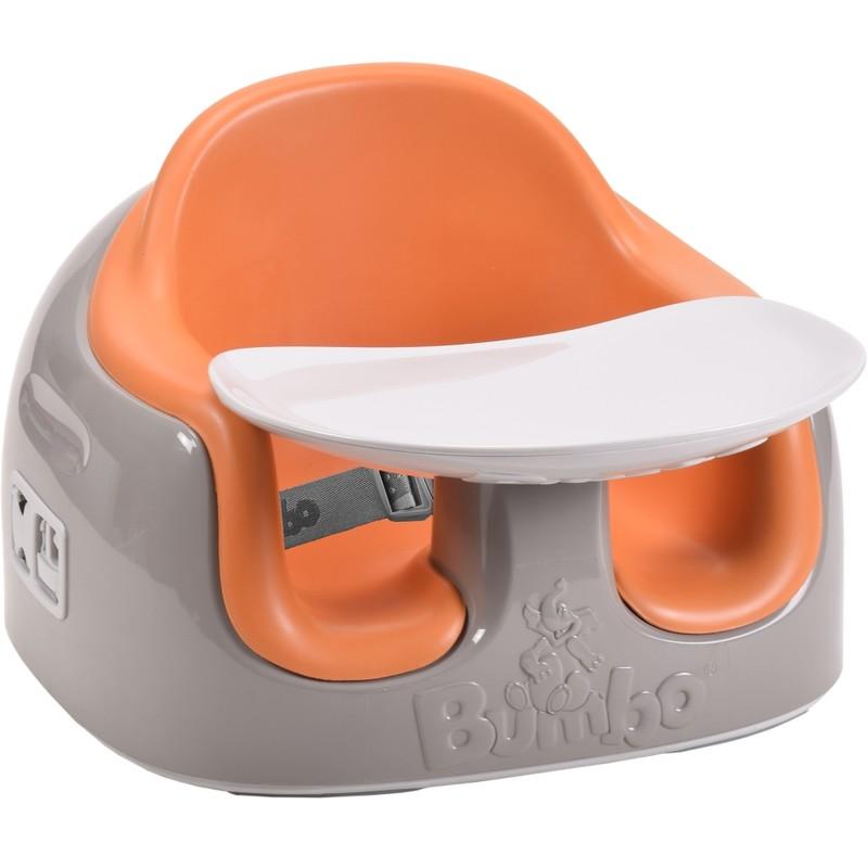 "BUMBO - Sedadlo ,, Bumbo Multi Seat "" - hnedá-oranžová"