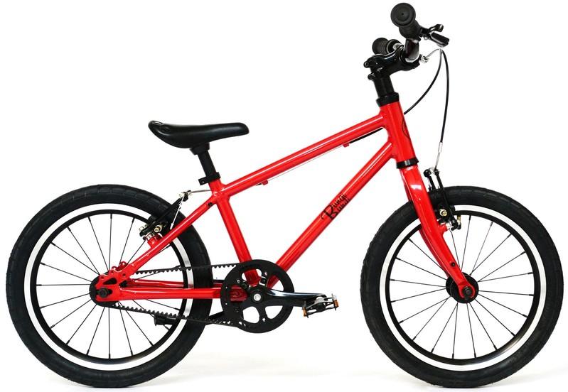 """BUNGI BUNGI BIKES - Detský bicykel Lite 16"""" Hliníkový ultra ľahký 2019 Strawberry Red"""