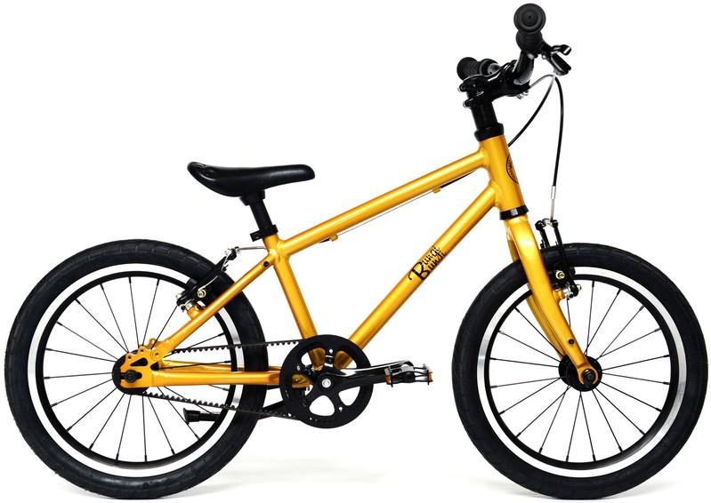 """BUNGI BUNGI BIKES - Detský bicykel Lite 16"""" Hliníkový ultra ľahký 2019 Pineapple Yellow"""
