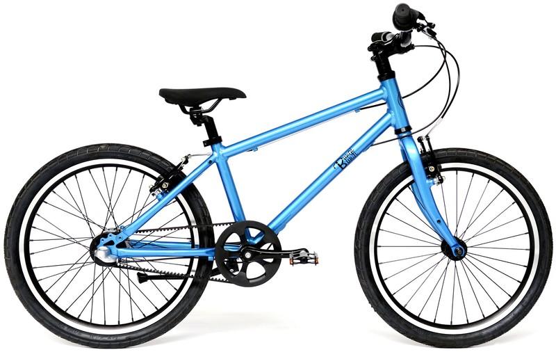 """BUNGI BUNGI BIKES - Detský bicykel Lite 20"""", Nexus 3 Hliníkový ultra ľahký 2019 - Blueberry Blue"""