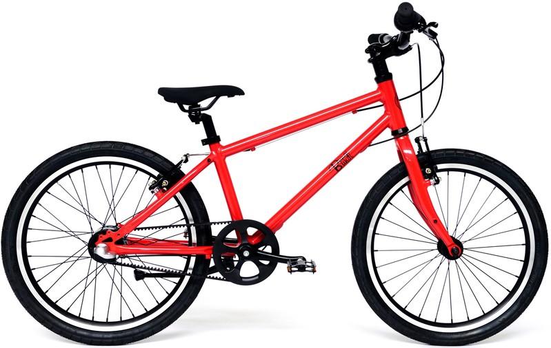 """BUNGI BUNGI BIKES - Detský bicykel Lite 20"""", Nexus 3 Hliníkový ultra ľahký 2019 - Strawberry Red"""