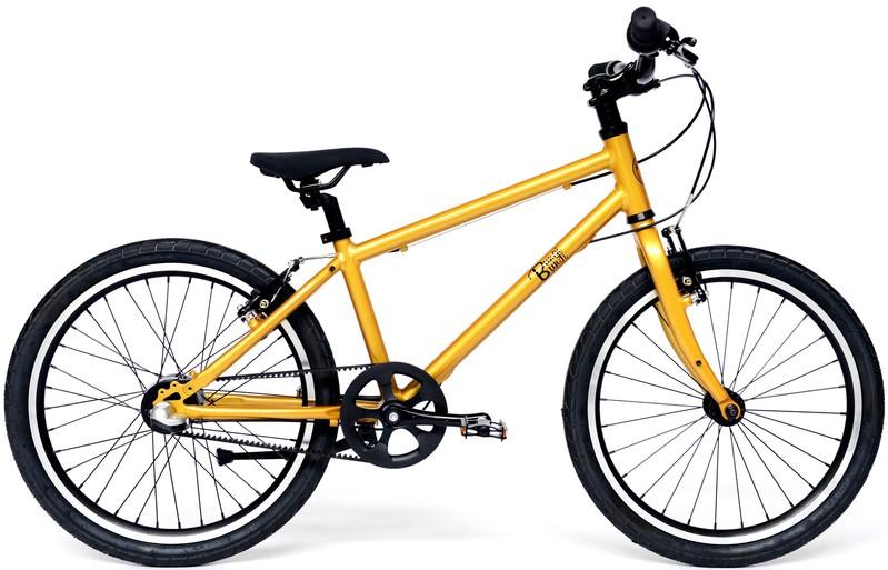 "BUNGI BUNGI BIKES - Detský bicykel Lite 20"", Nexus 3 Hliníkový ultra ľahký 2019-Pineapple Yellow"
