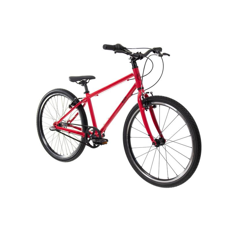 """BUNGI BUNGI BIKES - Detský bicykel Lite 24"""" Nexus 3 Hliníkový ultra ľahký 2021 -Strawberry Red"""