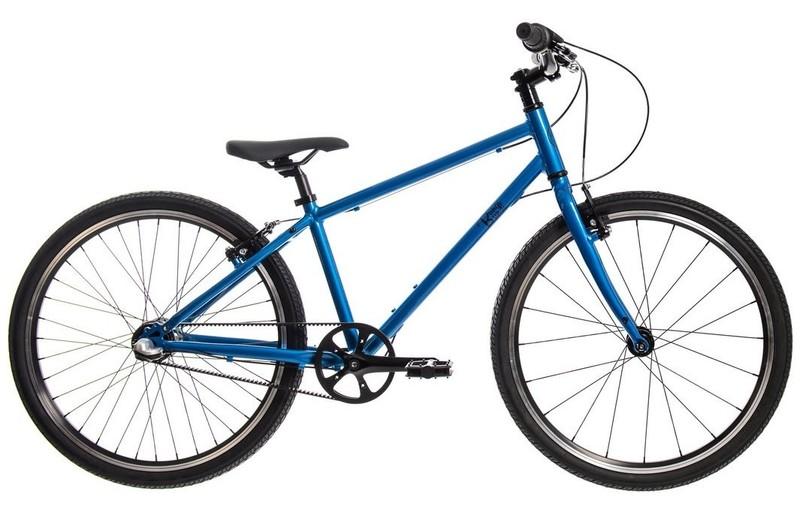 """BUNGI BUNGI BIKES - Detský bicykel Lite 24"""" Nexus 3 Hliníkový ultra ľahký 2021 -Blueberry Blue"""