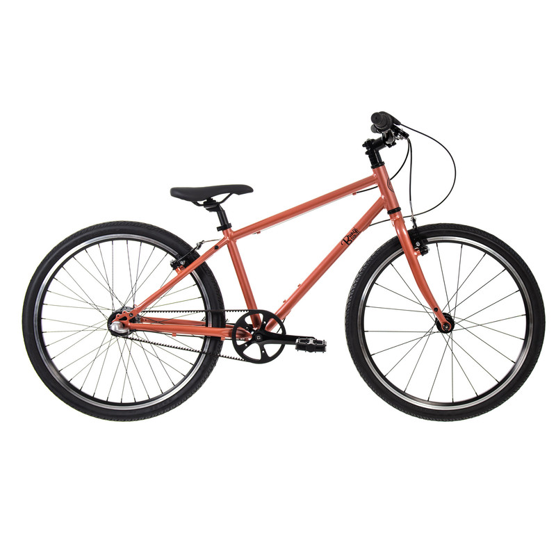 """BUNGI BUNGI BIKES - Detský bicykel Lite 24"""" Nexus 3 Hliníkový ultra ľahký 2021 -Passion Copper"""
