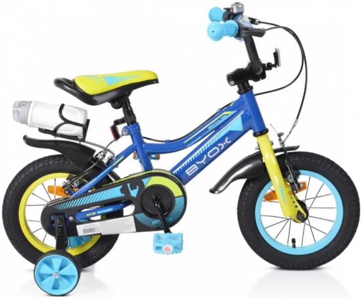 BYOX - Detský bicykel Prince 12, modré