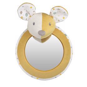 CANPOL BABIES - Maznáčik hebký so zrkadielkom do auta Mouse