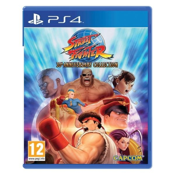 CAPCOM - PS4 Street Fighter 30th Anniversary Collection