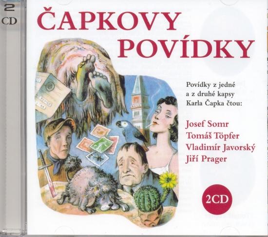 Čapkovy povídky - 2 CD - Karel Čapek