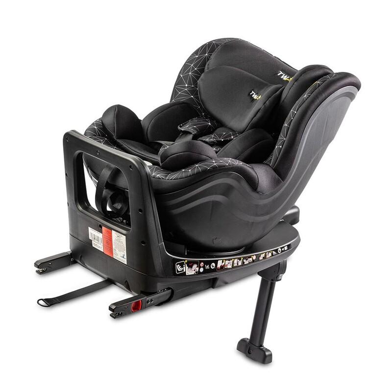 CARETERO - Autosedačka Twisty Isofix i-Size black 2020