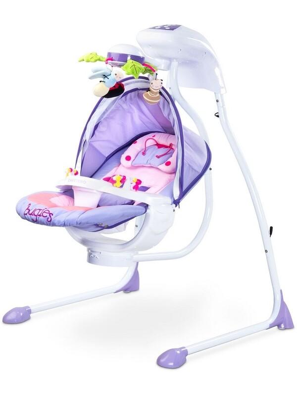 CARETERO - Detská hojdačka Bugies purple