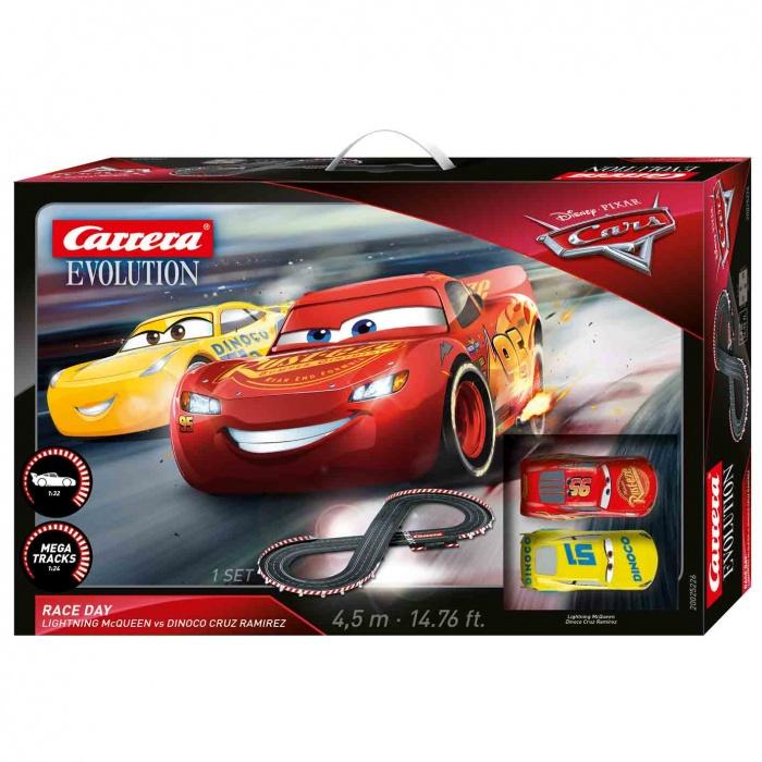 CARRERA - Autodráha Carrera EVO 25226 Disney Pixar Cars3