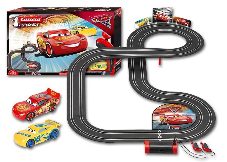 CARRERA - Autodráha Carrera FIRST - 63011 Disney Cars 3