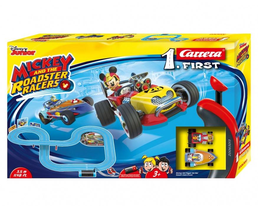 CARRERA - Autodráha Carrera FIRST - 63013 Mickey Racers