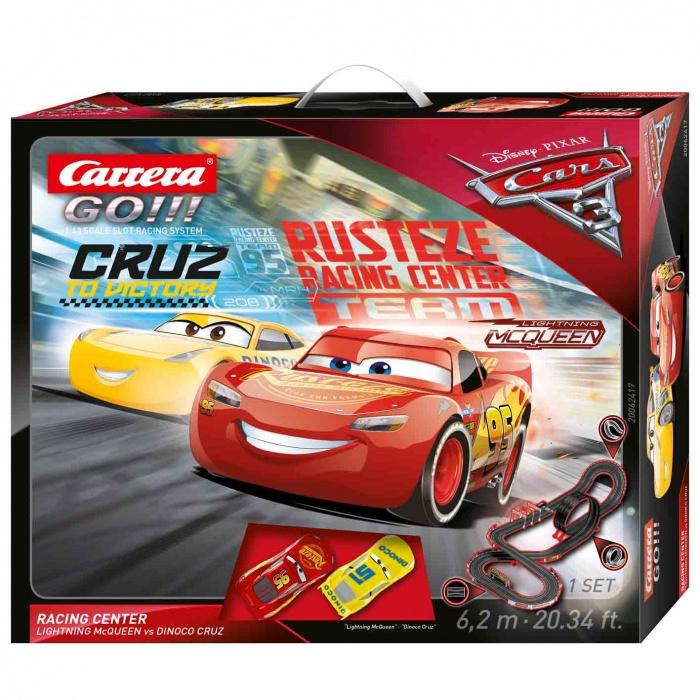 CARRERA - Autodráha Carrera GO 62417 Cars 3 - Racing Center