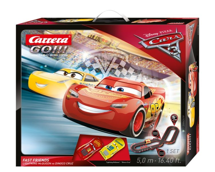 CARRERA - Autodráha Carrera GO 62419 Cars 3 - Fast Friends