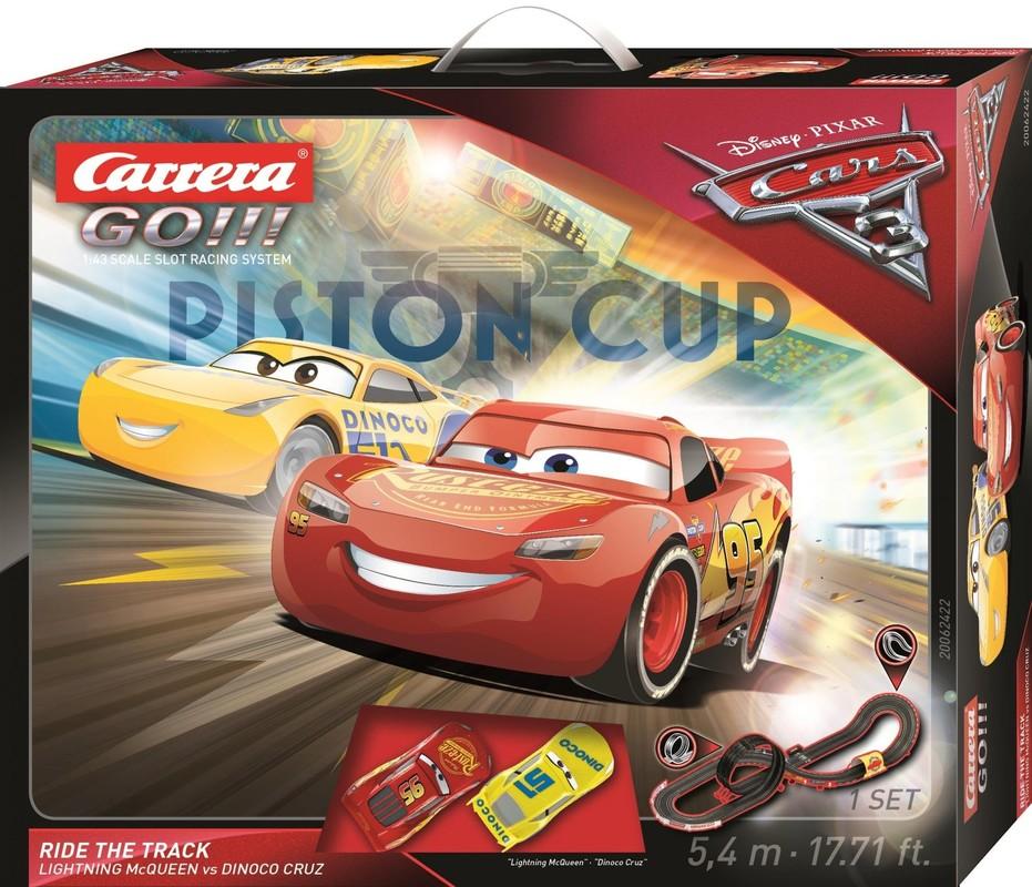 CARRERA - Autodráha Carrera GO 62422 Cars 3 Ride Track