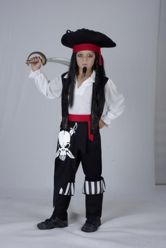 CASALLIA - Karnevalové oblečenie Pirátsky kapitán