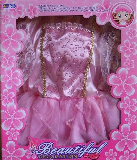 CASALLIA - Karnevalové oblečenie Ružová princezna