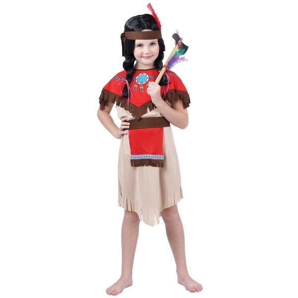 CASALLIA - Karnevalový kostým Indiánka bez návlekov M