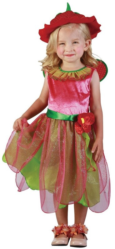 CASALLIA - Karnevalový kostým Jahodová víla