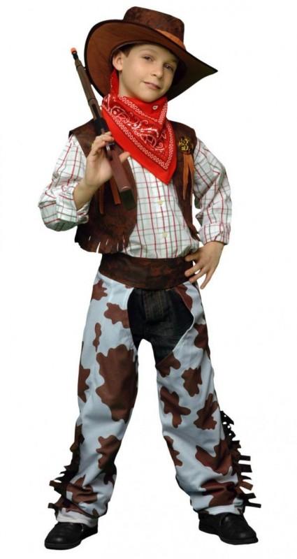 CASALLIA - Karnevalový kostým Kovboj 2 (veľ. 120-130 cm)