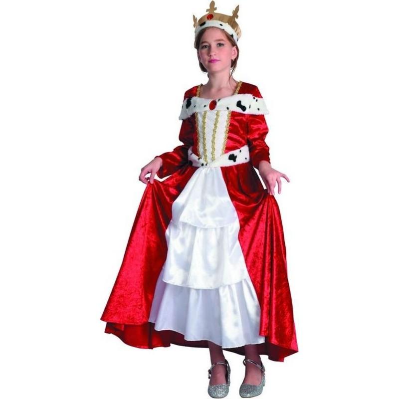 CASALLIA - Karnevalový kostým Kráľovná s korunou L