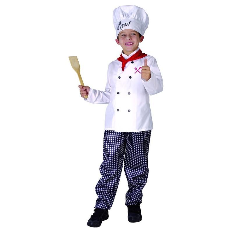 CASALLIA - Karnevalový kostým Kuchár Chef L