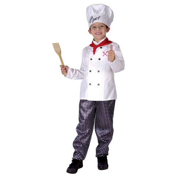 CASALLIA - Karnevalový kostým Kuchár - L