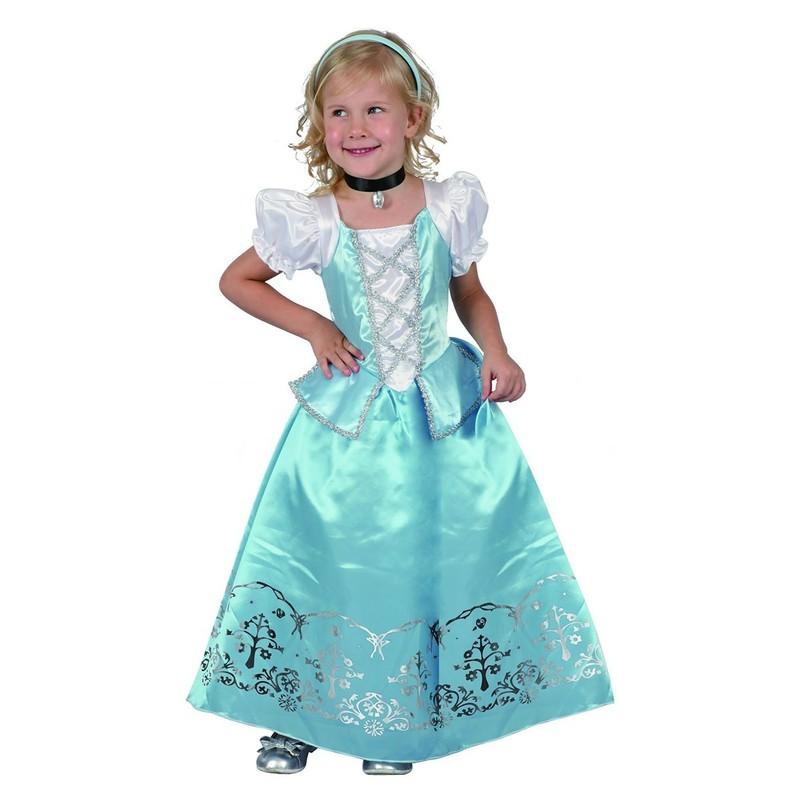 CASALLIA - Karnevalový kostým Malá modrá princezná 2