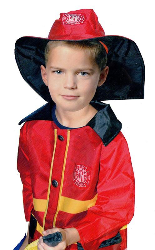 CASALLIA - Karnevalový kostým Požiarnik Uni