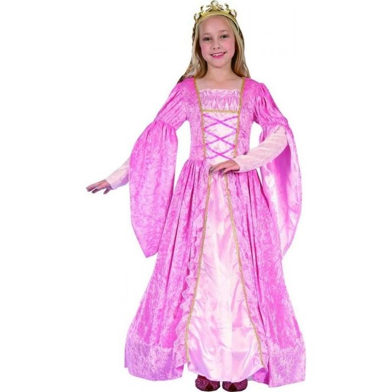 CASALLIA - Karnevalový kostým Princezná s korunkou M