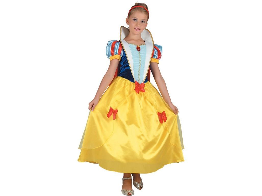 CASALLIA - Karnevalový kostým Snehulienka so šperkom - L