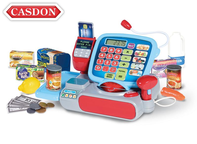 CASDON - Pokladňa s príslušenstvom 28x14x15 cm