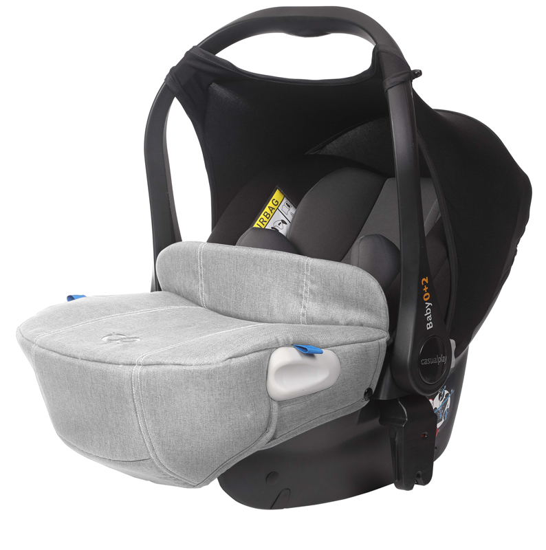 CASUALPLAY - Autosedačka 0-13 kg Baby 0 +2 Rhino (grey) 2019
