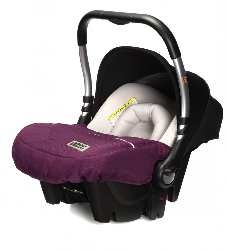 CASUALPLAY - Autosedačka Baby 0 plus 0-13 kg 2017 - PLUM