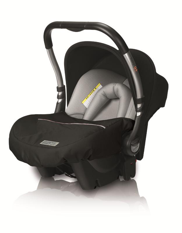CASUALPLAY - Autosedačka Baby 0plus 0-13 kg (2014) - Graphite (987)