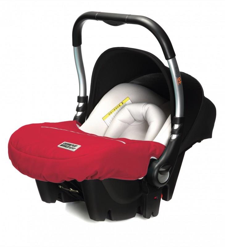 CASUALPLAY - Autosedačka Baby 0 plus 0-13 kg 2015 - RASPBERRY