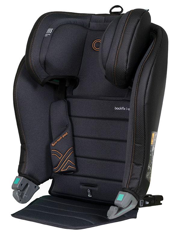 CASUALPLAY - Autosedačka BackFix i-Size 100-150 cm - deep grey