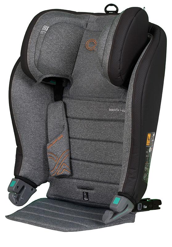 CASUALPLAY - Autosedačka BackFix i-Size 100-150 cm - light grey