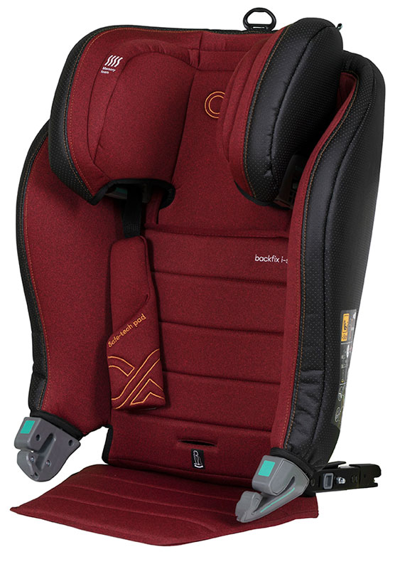 CASUALPLAY - Autosedačka BackFix i-Size 100-150 cm - maroon