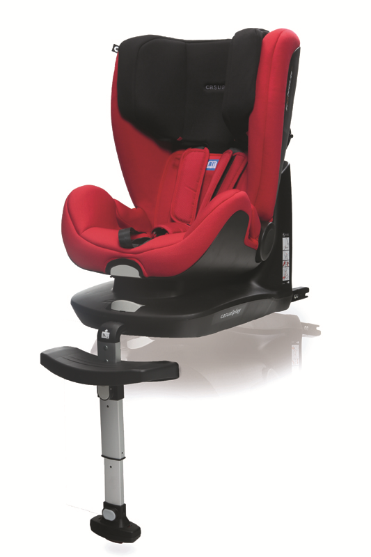 CASUALPLAY - Autosedačka Kangur Fix 9-25 kg (2014) - Red (630)