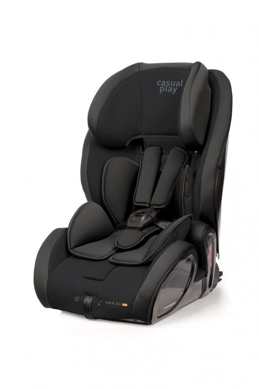CASUALPLAY - Autosedačka Multifix 9-36 kg 2015 - EBONY