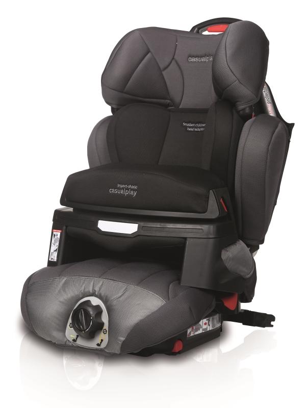 CASUALPLAY - Autosedačka Multiprotector Fix 9-36 kg (2014) - Technical Grey