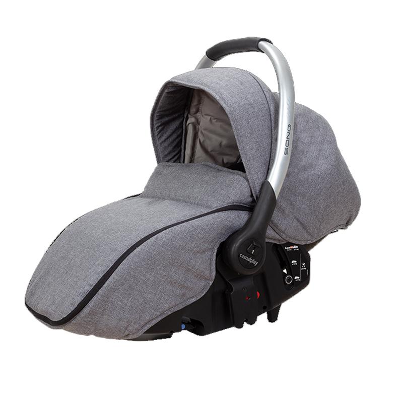 CASUALPLAY - Autosedačka Sono 0-13 kg Artic Grey