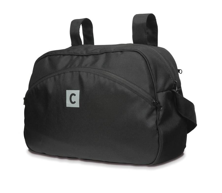 CASUALPLAY - Prebaľovacia taška na kočík - čierna