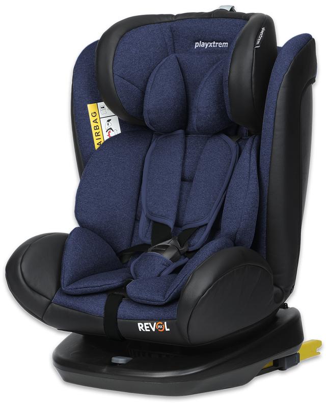 CASUALPLAY – Playxtrem Autosedačka 0-36 kg Revol Fix Roll (Blue) 2019
