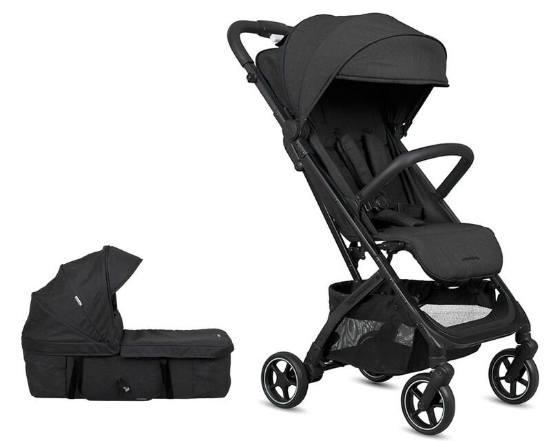 CASUALPLAY - Set športový kočík Tour Chair, vanička - black