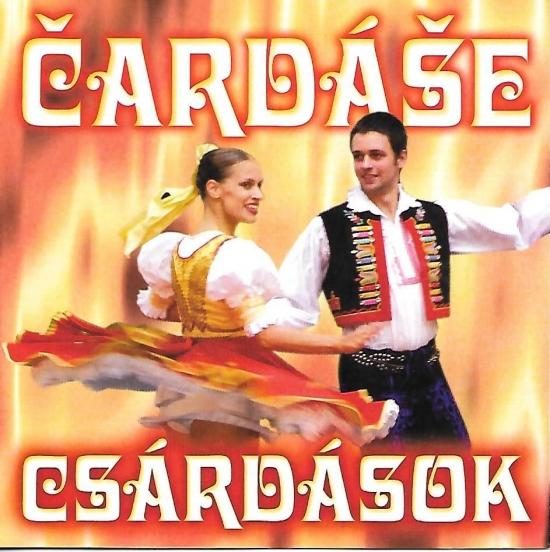 CD - Ľudové cigánske čardáše - Csárdások / Čardáše - Rinaldo Oláh a Eugen Farkaš